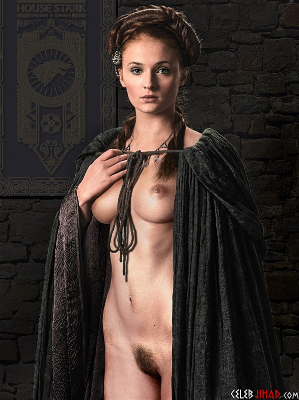 Sophie Turner Naked Game Of Thrones photo 26