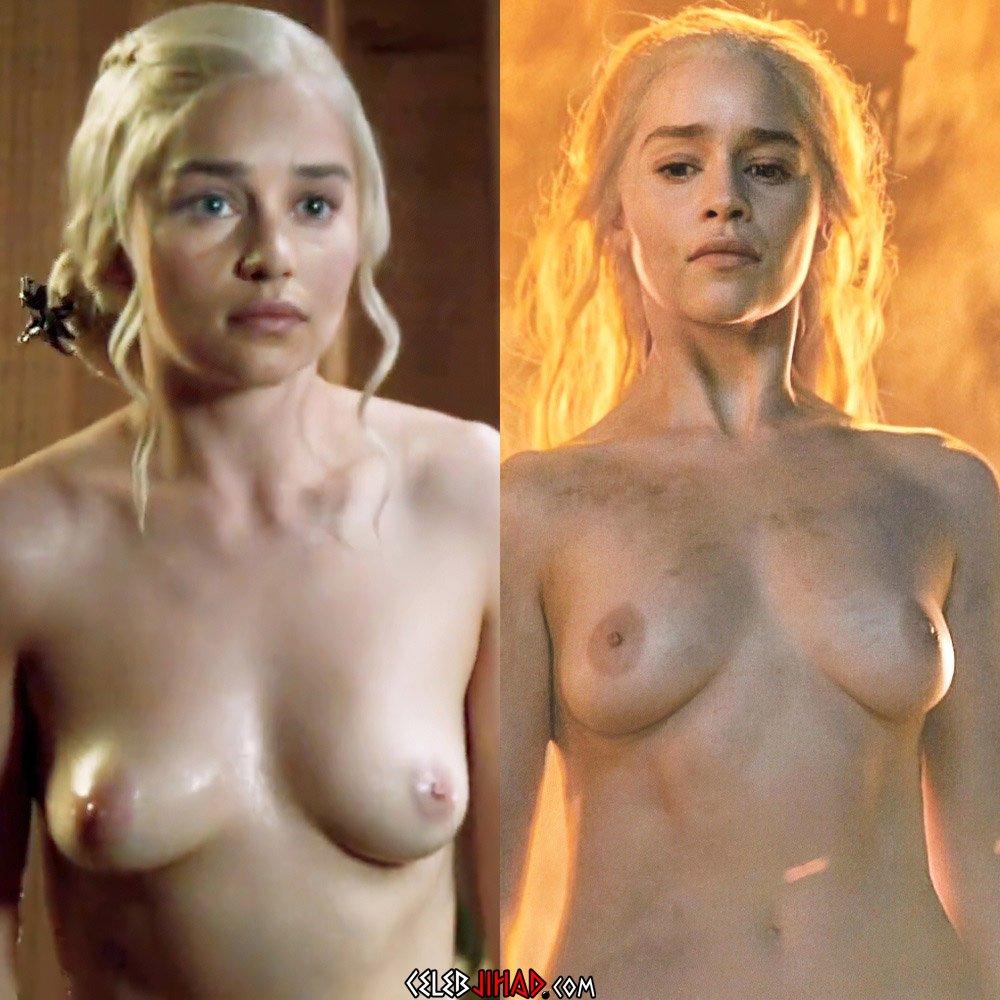Emilia Clarke Naked Video photo 3