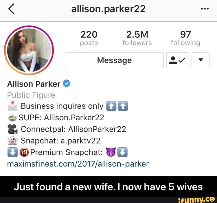 Allison Parker Premium Snapchat Name photo 11