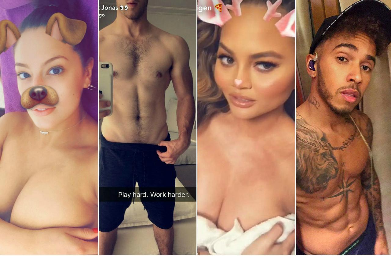 Sexy Naked Snapchat photo 7