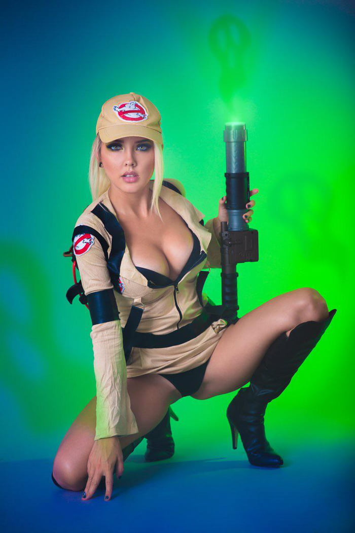 Jessica Nigri Ghost Busters photo 2